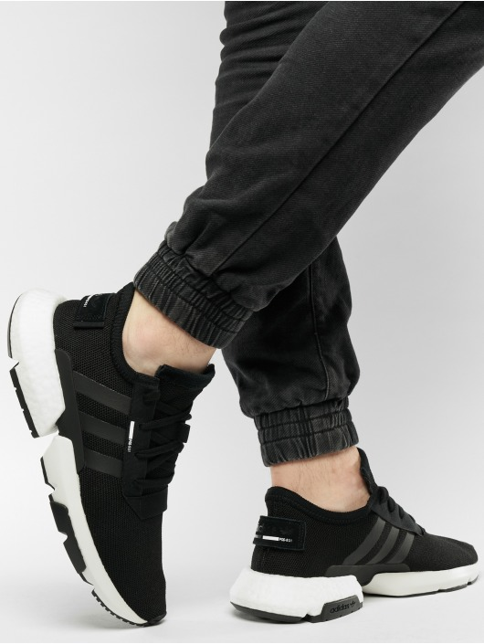 adidas originals Men Sneakers PodS31 in black pleasant POD Point of Deflection damping systems B37366 HYXDPYH_7